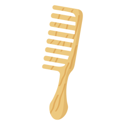 Bodycare haircomb thin flat