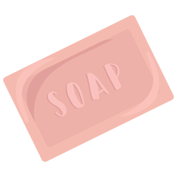 Jabón de cuidado corporal plano