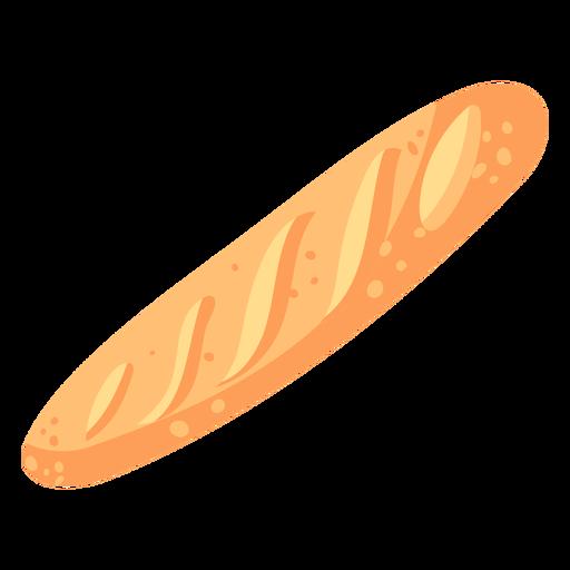 Pan baguette francés plano
