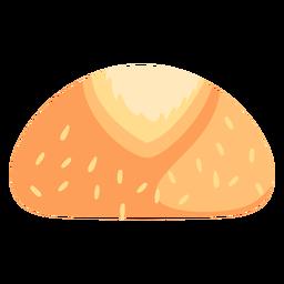 Bollo de pan plano