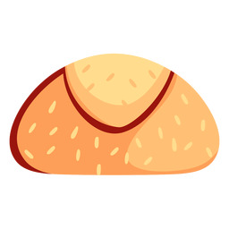 Icono de bollo de pan
