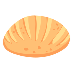 Bread loaf flat