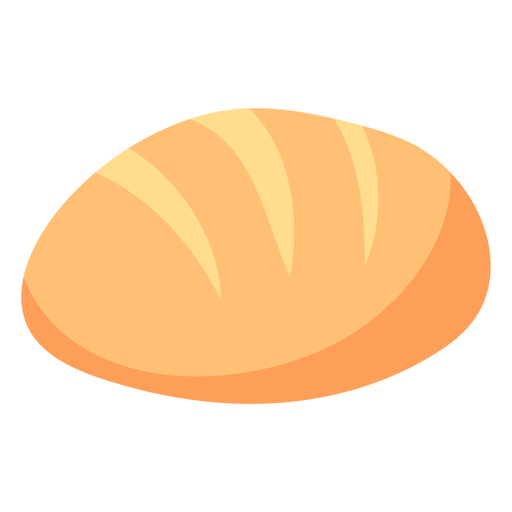 Bread polish loaf flat