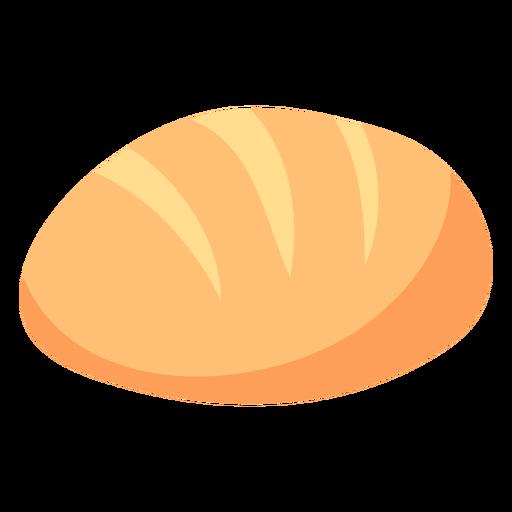 Pan de hogaza plana