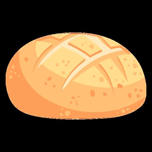 Calavera de pan plana