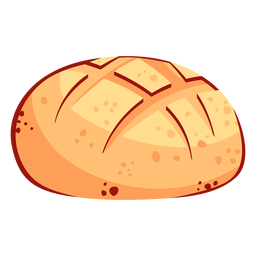 Bread skull icon