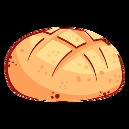 Icono de calavera de pan