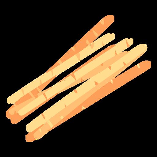Bread sticks icon