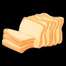 Pan de trigo pan plano