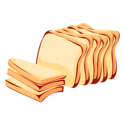 Bread wheat bread icon