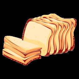 Icono de pan de trigo pan