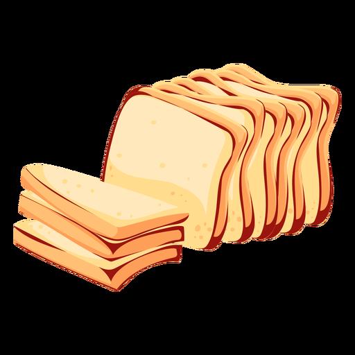 Bread wheat bread icon