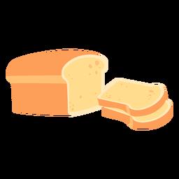Pan pan blanco plano