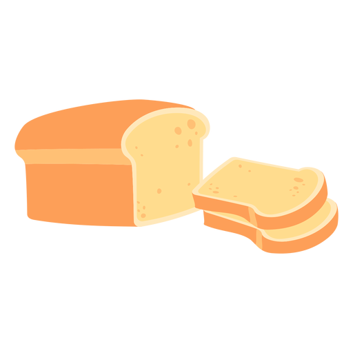 Pão pão branco liso