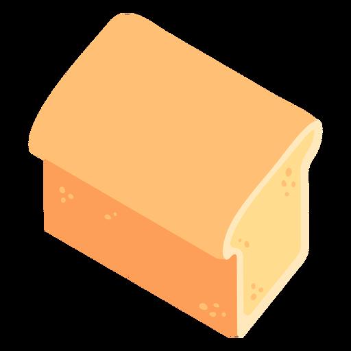 Pan blanco plano