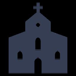 Diseño de la iglesia católica simple