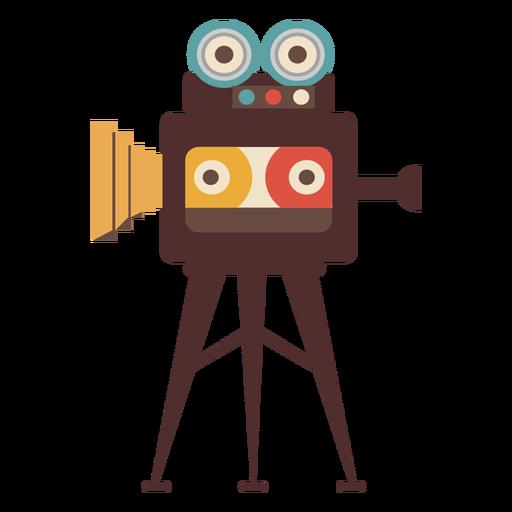 Cámara de cine cine dibujado a mano Transparent PNG