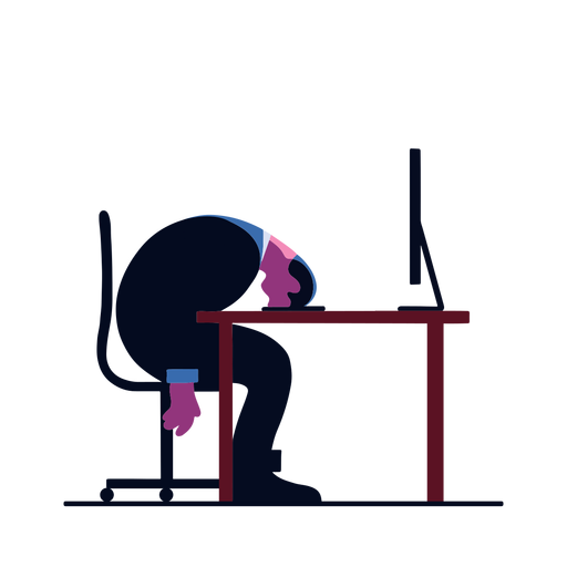 Computer professional illustration Transparent PNG