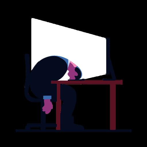Computer professional illustration