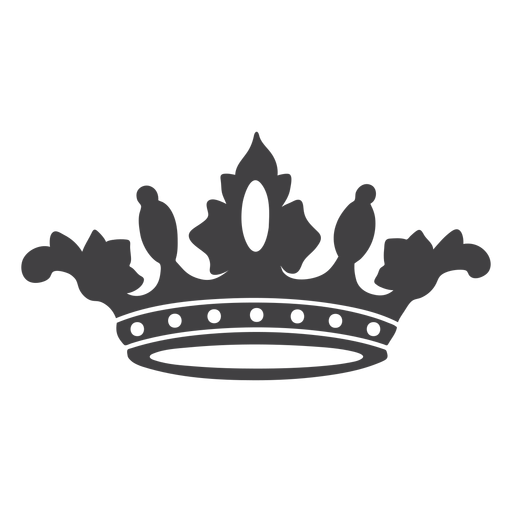Crown design simple icon