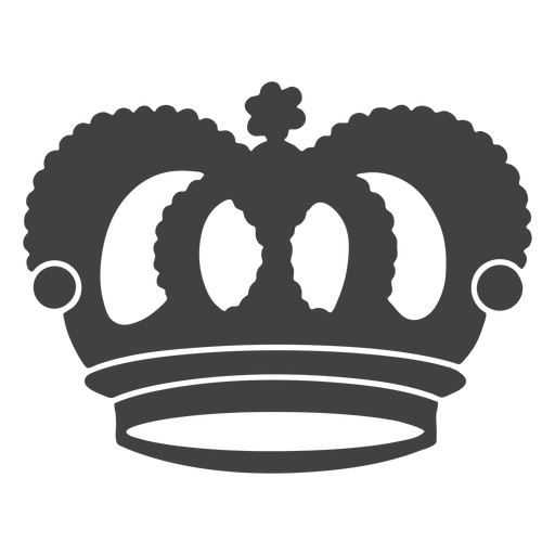 Crown design top arches icon Transparent PNG
