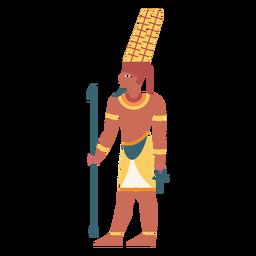Dioses egipcios amun flat