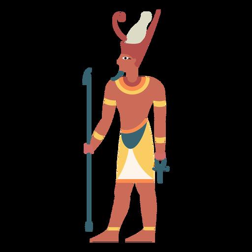 Dioses egipcios atum flat