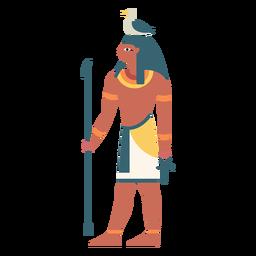 Dioses egipcios geb flat