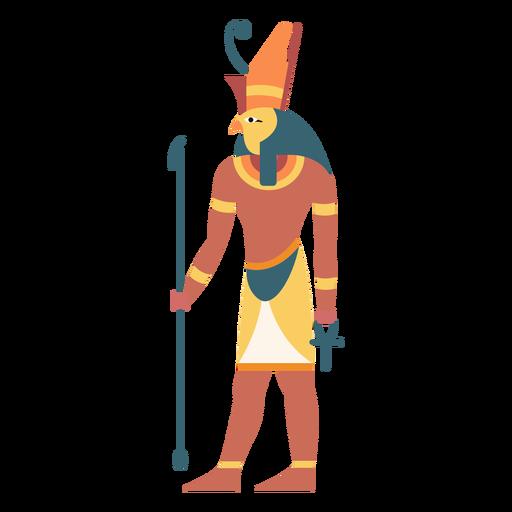 Egyptian gods horus flat