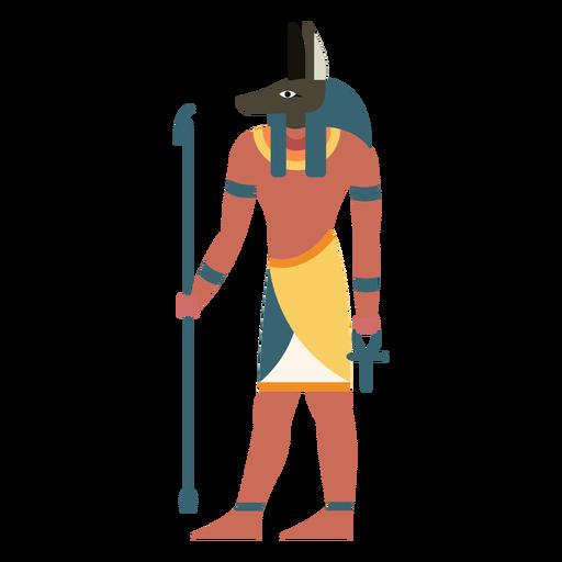 Egyptian gods seth flat