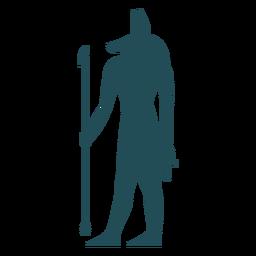 Deuses egípcios seth silhueta