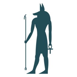 Egyptian gods seth silhouette