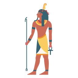 Egyptian gods shu flat