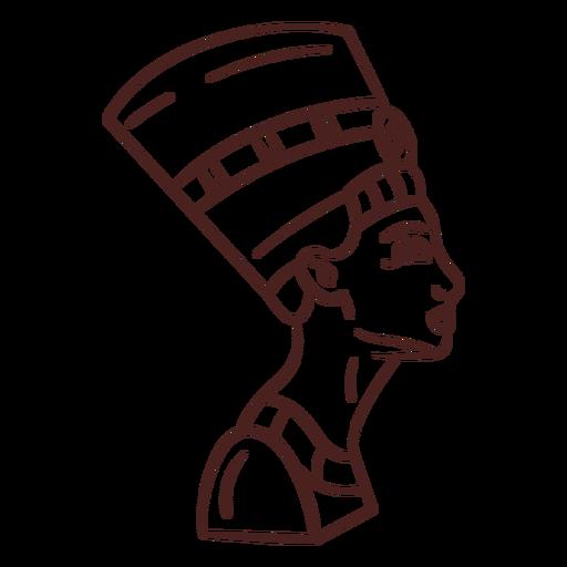 Símbolo egipcio trazo de cleopatra