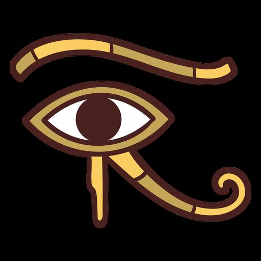 S?mbolo egipcio ojo de horus dibujado a mano