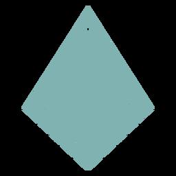 Pendientes de piel cometa plana invertida