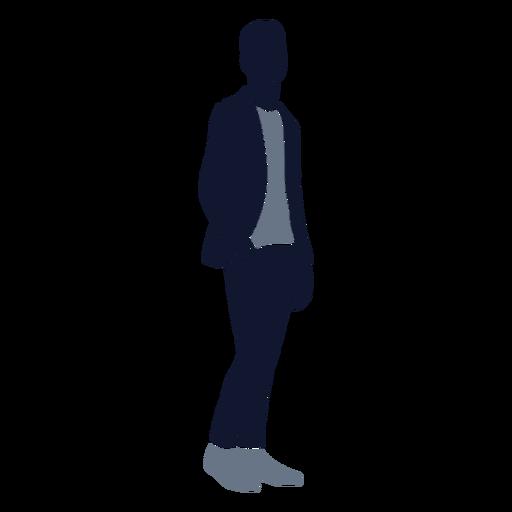 Men fashion hand in pocket right facing