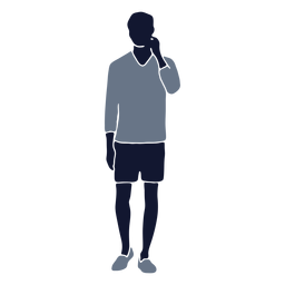 Moda masculina em pé com a mão levantada
