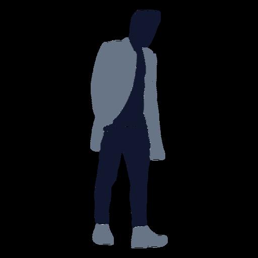 Men fashion walking hand in pocket Transparent PNG