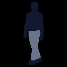 Moda masculina caminhando para a esquerda