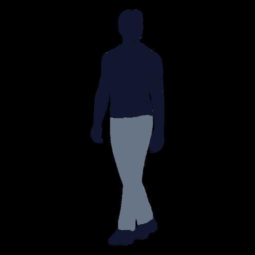 Men fashion walking left
