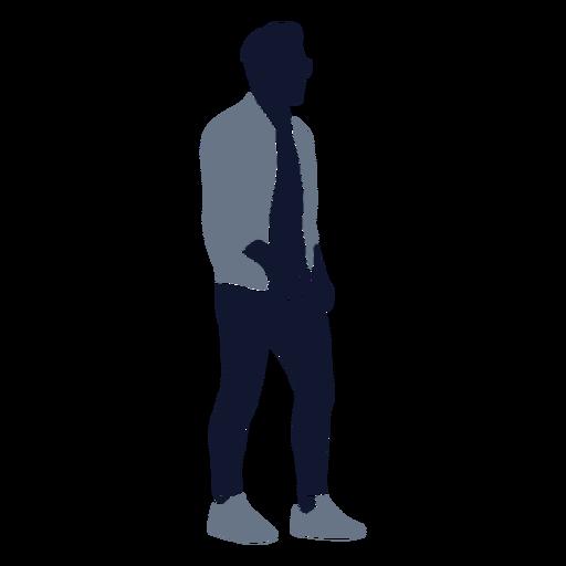 Men fashion walking right facing