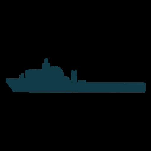 Buque naval simple hacia la izquierda