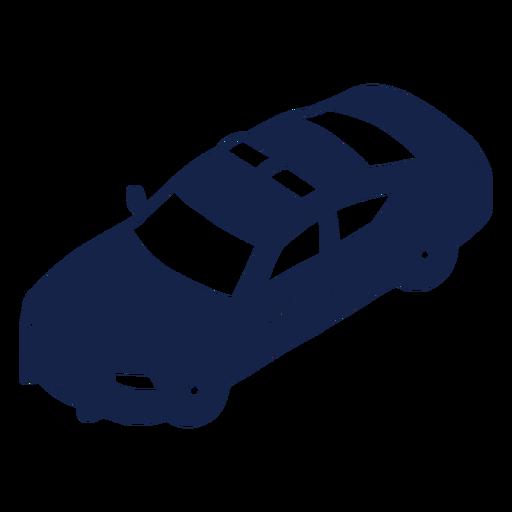 Coche de policía a la izquierda en ángulo Transparent PNG