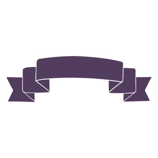 Bandera de la cinta ondulada termina