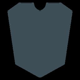 Shields design conic silhouette