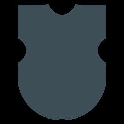 Shields design square top silhouette