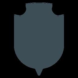 Diseño de escudos vikingos silueta de fondo redondo