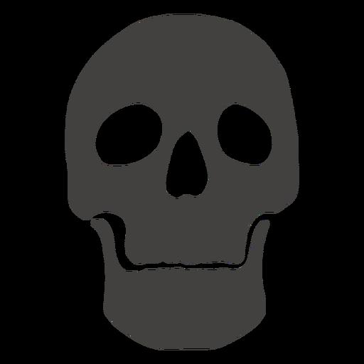 Skull human broad jaw Transparent PNG