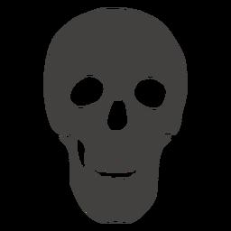 Cráneo humano mandíbula abierta